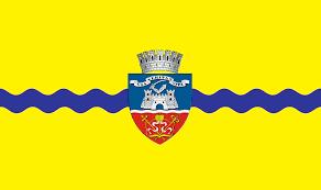 Portland City Flag Flag Of Arad Romania Romania Past And Future Travel