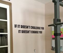 Why Won T The Challenge Work Fitness Decor Motivation Decal Work Out Sticker If It