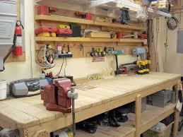 Build A Garage Plans How To Build A Garage Workbench Wooden Garage Workbench