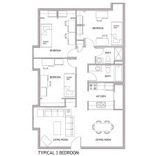 newark floor plans living on campus