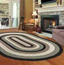 braided rug thorndike mills green mountain braided rug