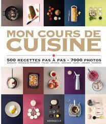 cours cuisine gratuit mon cours de cuisine amazon co uk marabout 9782501075190 books