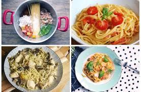 cuisiner des pates one pot pasta six recettes de pâtes tout en un