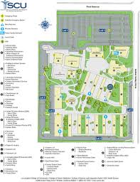 map and directions scu