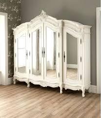 Cheap White Gloss Bedroom Furniture by Wardrobes Cassia White Bi Fold Doors Open White High Gloss