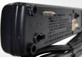 wall mounted surge protector 6 outlet black surge protectors wall mountable u2013 20 foot cord