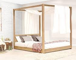 Four Post Canopy Bed Frame Four Poster Bed Etsy