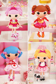 lalaloopsy cake topper pink yellow lalaloopsy dessert table hostess with the mostess