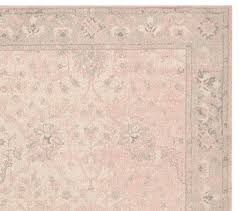Pink Rug Nursery Monique Lhuillier Printed Rug Pottery Barn Kids Rooms