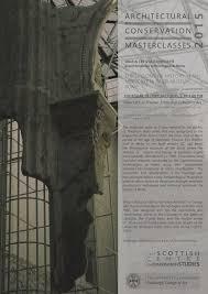masterclasses 2015 architectural conservation masterclasses maria letizia conforto