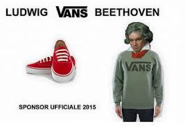 Beethoven Meme - ludwig vans beethoven ans sponsor ufficiale 2015 vans meme on me me