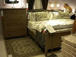 bedding hemnes bed frame with 2 storage boxes ikea queen 0447181