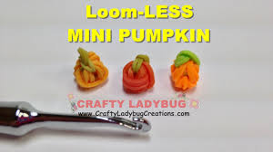 halloween charm bracelets rainbow loom bands mini pumpkin no loom halloween easy charm