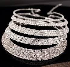 crystal choker necklace set images Bridal classic rhinestone crystal choker set ashley stones jpg