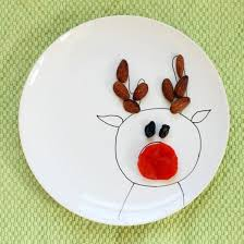christmas plates diy christmas plates from plain white dishes and a china paint pen