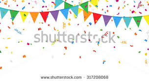 party confetti bunting party flag free vector stock graphics images