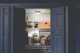 Wireless Light Fixtures by Closet Light