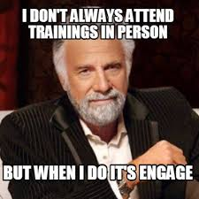 Meme Generator I Don T Always - meme creator i don t always attend trainings in person but when i