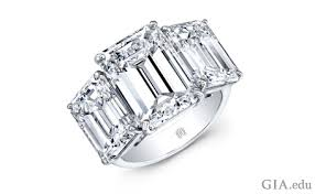 neil emerald cut engagement rings the emerald cut engagement ring