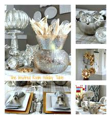 silver gold table tables holidays and