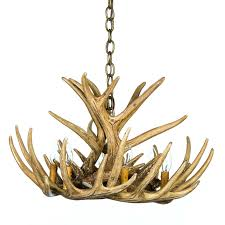 whitetail deer 9 antler chandelier cast horn designs