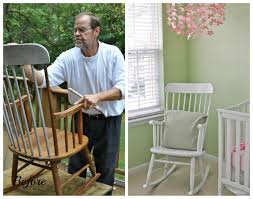 Wooden Rocking Chairs For Nursery by Rocking Chair Pads Nursery Rocking Chair Pads W Pad Rocking