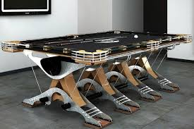 Custom Pool Tables by Pockets The New Look Of Pool Tables Wsj