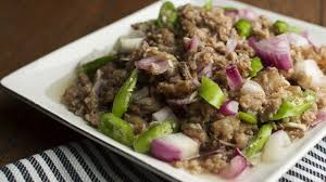 ingredient cuisine pork sisig