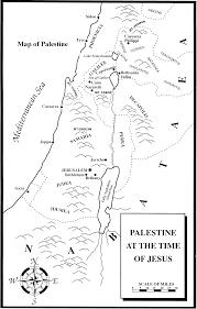 Judea Map Map
