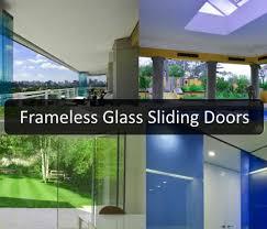 frameless glass sliding doors the versatility of frameless glass sliding doors totally home