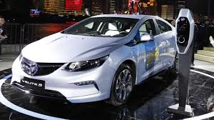 electric cars chinese electric cars set to make waves at shanghai motor show