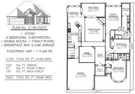 50 Sq Ft Bathroom by 3 Bedrooms 1701 2250 Square Feet