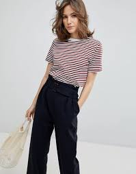 selected femme selected selected femme my striped t shirt