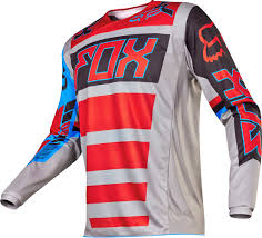 red dirt bike boots 2017 fox racing 180 falcon jersey mx motocross off road atv dirt