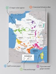 French Map France Maps Academia Maps Maps Travel Guide Your Key To Burgundy