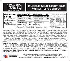 muscle milk light bars muscle milk light bar описание отзывы цена выбрать и купить