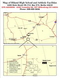 Ohio Map Us by Directions And Map East Holmes Public Schools