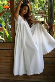 honeymoon nightgowns white cotton swing bridal wedding honeymoon