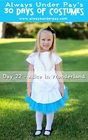 alice wonderland halloween costumes day 22 u2013 alice in wonderland diy halloween costume tutorial cheap