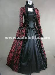 victorian gothic steampunk dress brocade long sleeve prom ball