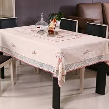 Round Kitchen Table Cloth by Online Get Cheap Ribbon Embroidery Tablecloth Round Aliexpress