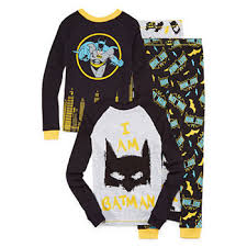 batman pajamas for jcpenney