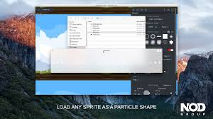 geon fx particle editor by nod group gamemaker marketplace