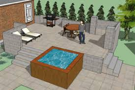 Landscape Deck Patio Designer 63 Tub Deck Ideas Secrets Of Pro Installers Designers
