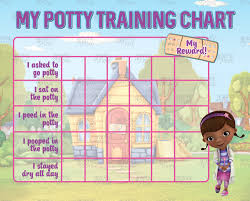 printable doc mcstuffins potty training chart free punch cards