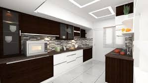 Straight Line Kitchen Designs Parallel Kitchen Design As You See It Is A Fully Equipped