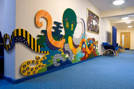 Football Wall Murals by Tactile Panels And Murals For Special Needs