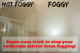 Bathroom Shower Mirror Stop Your Bathroom Mirror From Fogging Tgif This Is