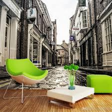 3d Wallpaper For Living Room by Custom Photo 3d Wallpaper Non Woven Mural European City Street