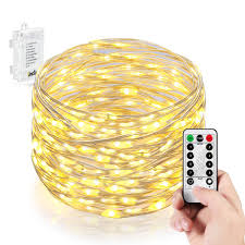 Battery String Lights With Timer by Homestarry Battery String Lights Pro 16ft 66 Leds Homestarry
